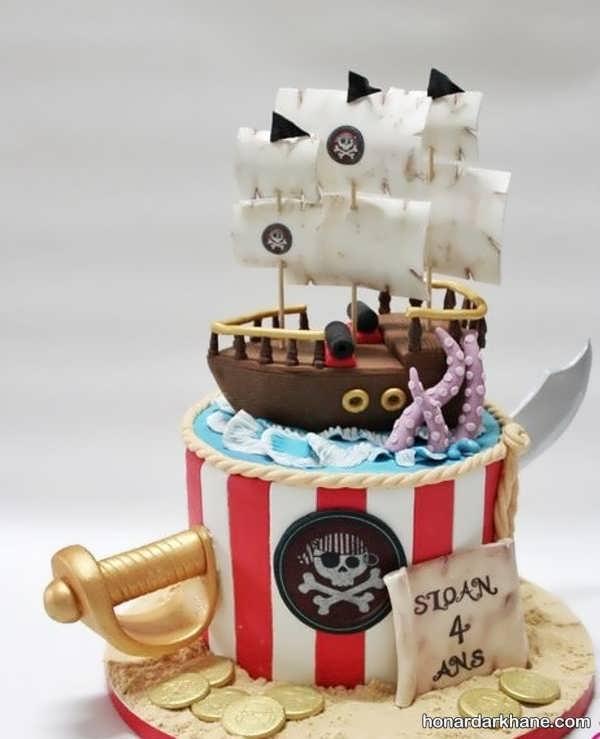 انواع سبک های جدید کیک تولد برای پسران