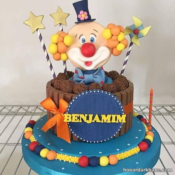 انواع کیک تولد زیبا و فانتزی برای پسران