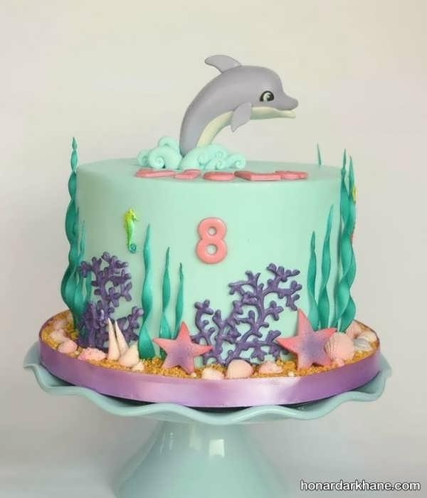 انواع مدل های جذاب کیک تولد با طرح های فانتزی