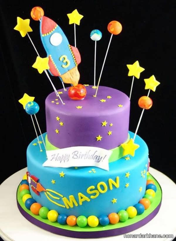 انواع مدل های زیبا کیک تولد پسرانه