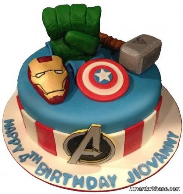 انواع کیک تولد خاص برای پسران