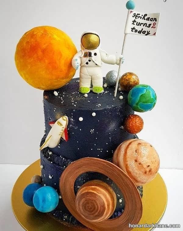 انواع کیک تولد جذاب برای پسر بچه ها