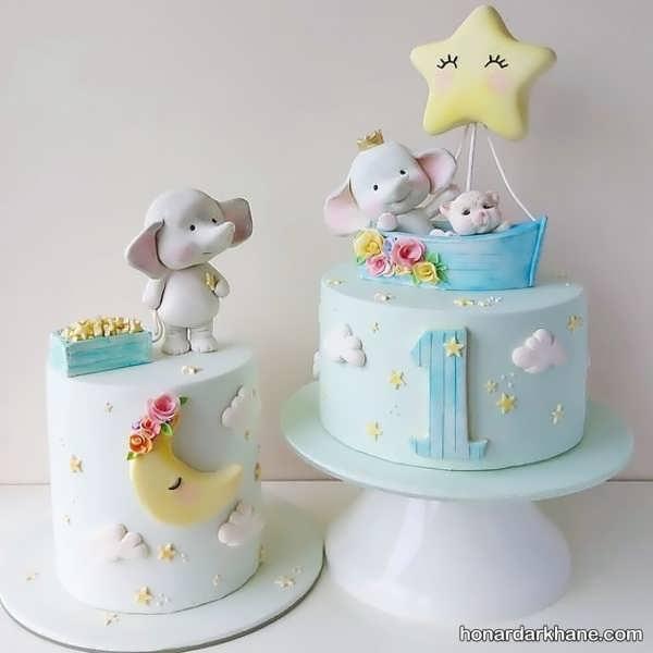انواع سبک های جذاب کیک تولد پسرانه