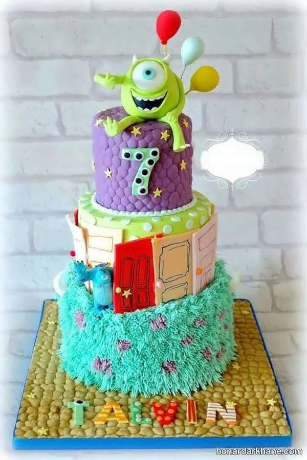 مدل های شیک و فانتزی کیک تولد برای پسر بچه ها