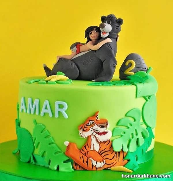 مدل های خاص و جالب کیک تولد برای پسران