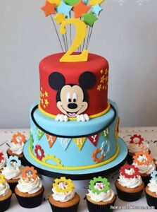 انواع جدید و خاص کیک تولد پسرانه