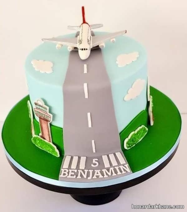 انواع کیک تولد شیک و جدید برای پسران