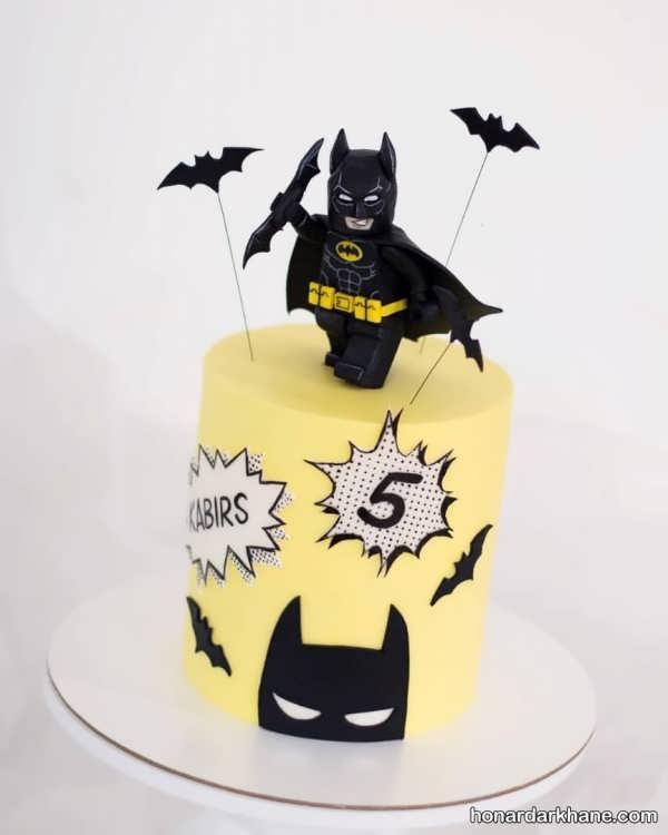 انواع کیک تولد شیک و زیبا برای پسران