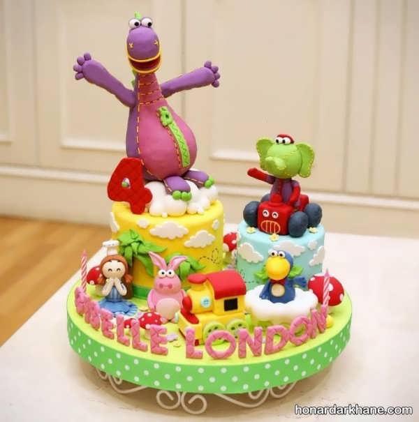 انواع کیک تولد زیبا و جذاب برای پسران