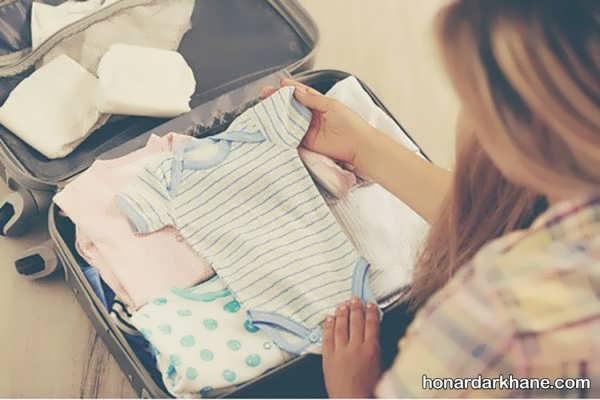 فهرست وسایل کیف بیمارستان نوزاد