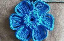 آموزش بافت گل با قلاب