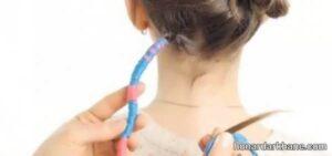 نحوه زیبا سازی مو با کاموا