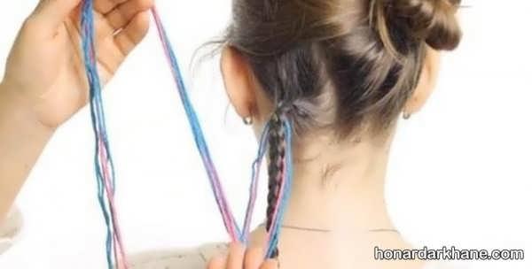 مراحل بافت مو به روشی جالب