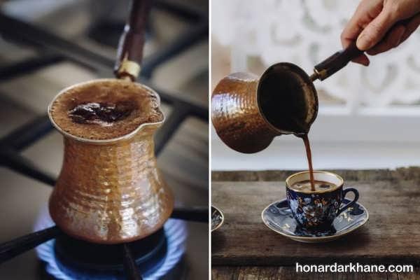 طرز تهیه قهوه ترک با طعمی عالی