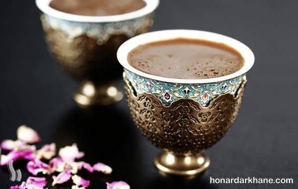روش درست کردن قهوه ترک
