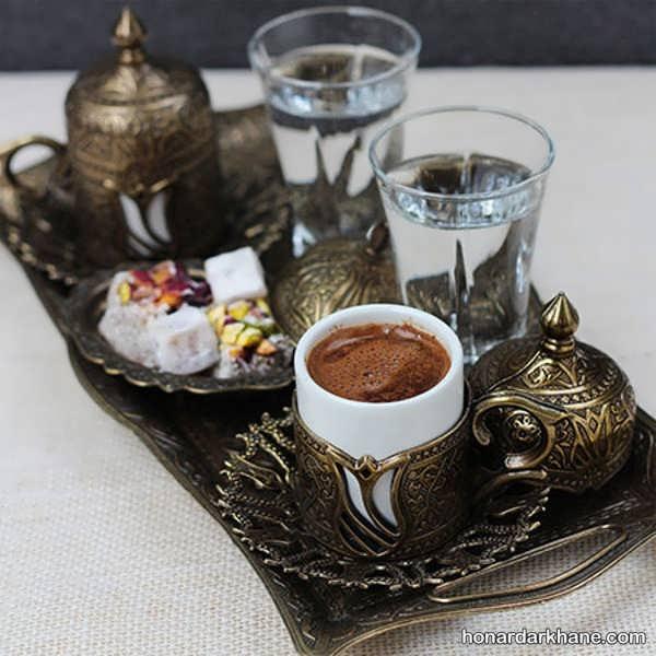طریقه دم کردن قهوه ترک در خانه