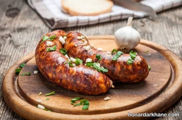 طریقه پخت سوسیس خوشمزه و بی نطیر