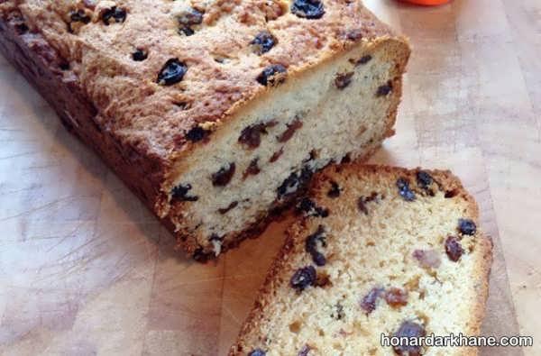 طرز تهیه کیک کشمشی با طعمی عالی