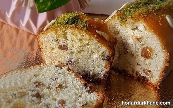 نحوه پخت کیک کشمشی با طعمی عالی