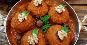 طرز تهیه کوفته تبریزی لذیذ و خوشمزه