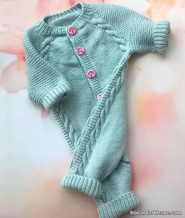 انواع سرهمی بافتنی جالب و زیبا نوزاد