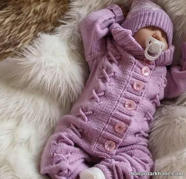 انواع سرهمی بافت جالب نوزاد