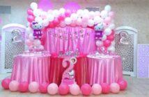مدل های جذاب برگزاری جشن تولد با تم تولد کیتی