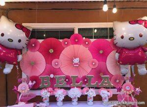 انواع برگزاری جشن تولد با تم تولد کیتی