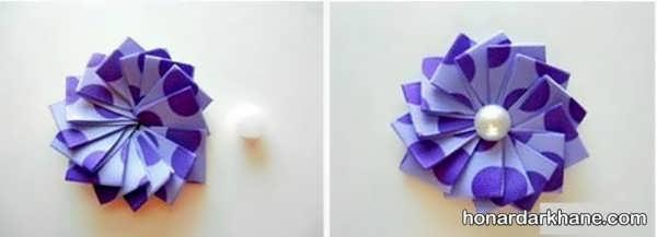 روش درست کردن گل سر