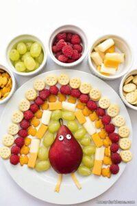 انواع مدل های جالب میوه آرایی گلابی