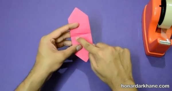 شیوه درست کردن شمشیر کاغذی