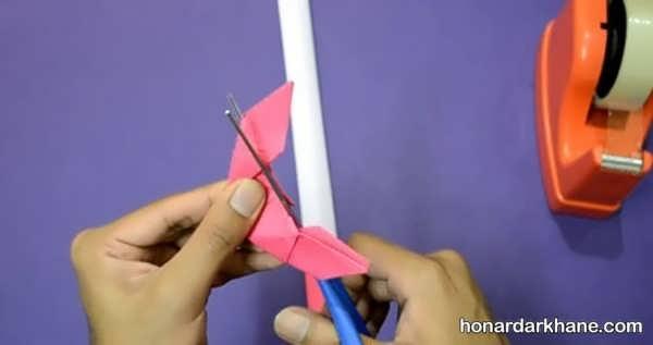 نحوه درست کردن شمشیر کاغذی