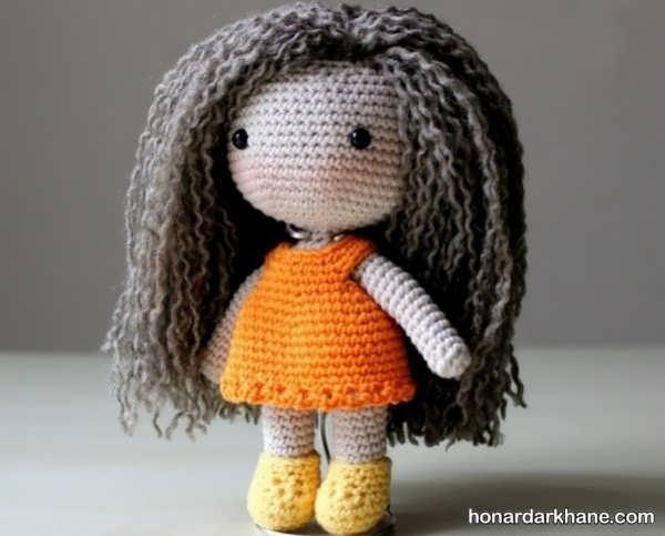 آموختن بافت عروسک به روشی ساده