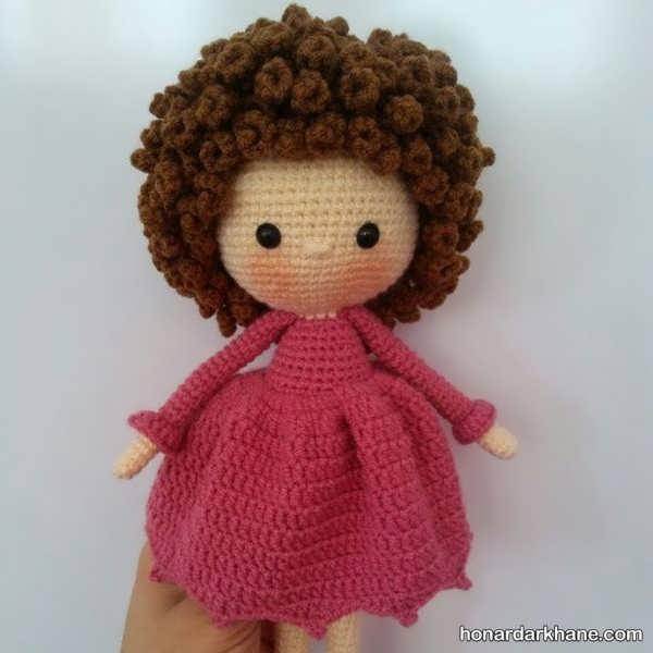فراگیری بافت عروسک زیبا و بامزه