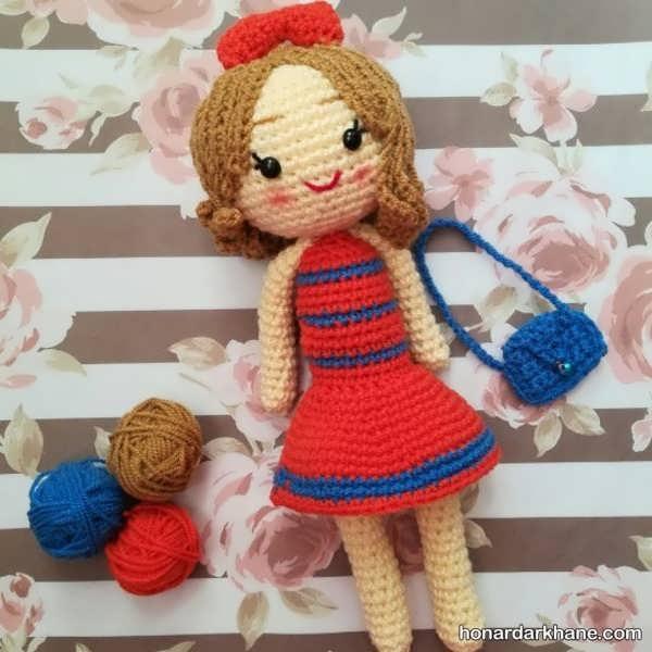 یادگیری بافت عروسک در خانه