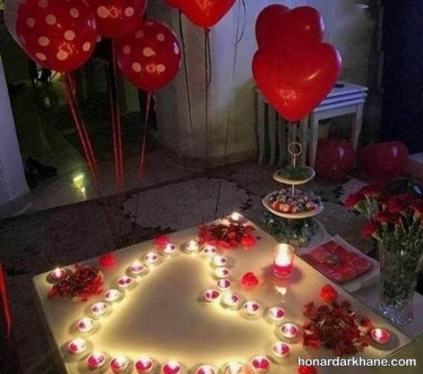 مدل های جدید و عاشقانه تزیین اتاق سالگرد ازدواج