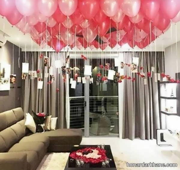 انواع برگزاری سالگرد ازدواج با طرح رمانتیک