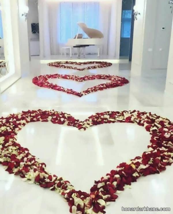 انواع محیط آرایی جذاب برای سالگرد ازدواج