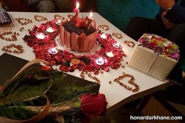 مدل های شیک و رمانتیک تزیین سالگرد ازدواج