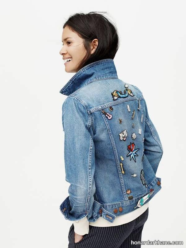 مدل های جالب و طرح دار کت جین زنانه