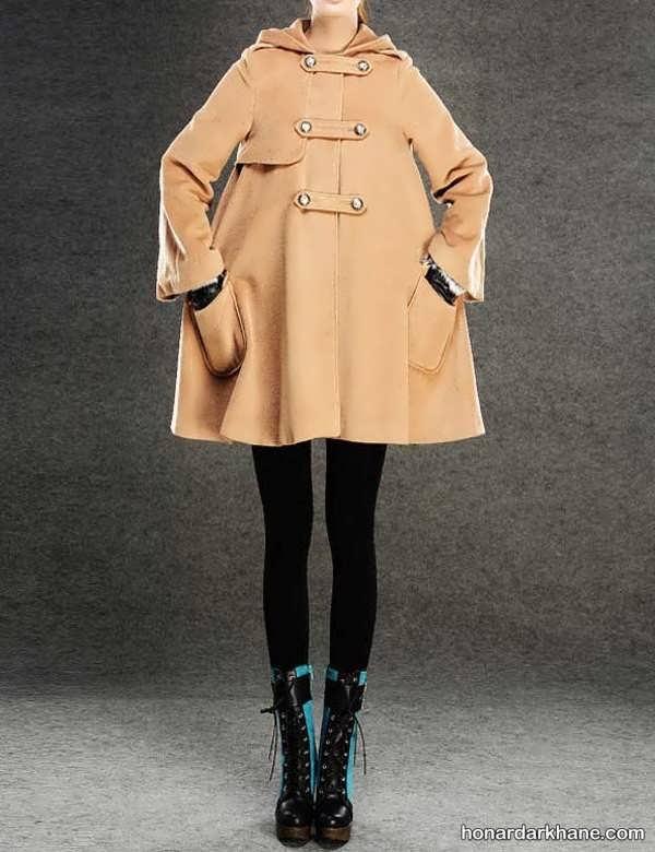 مدل های زیبا و جدید شنل دخترانه پاییزی