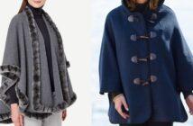 مدل های متنوع و شیک شنل دخترانه پاییزی