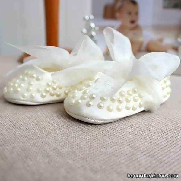 انواع کفش نوزادی مجلسی