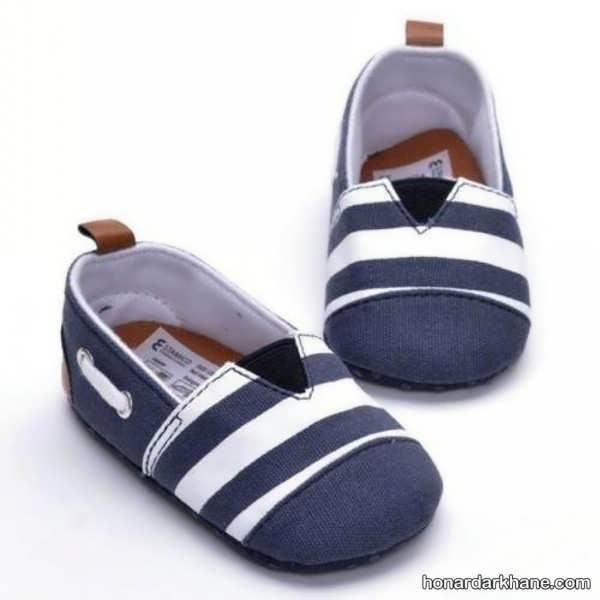 انواع کفش نوزادی طرح دار جدید