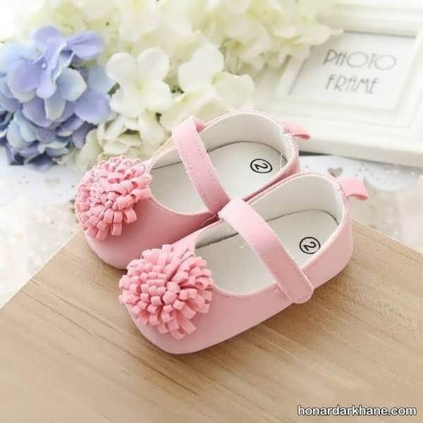 انواع کفش نوزادی زیبا و فانتزی