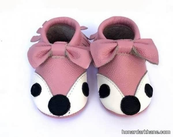 مدل های دخترانه کفش نوزادی