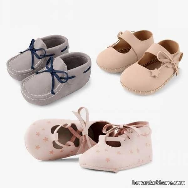 مدل های جالب و اسپرت پاپوش نوزادی