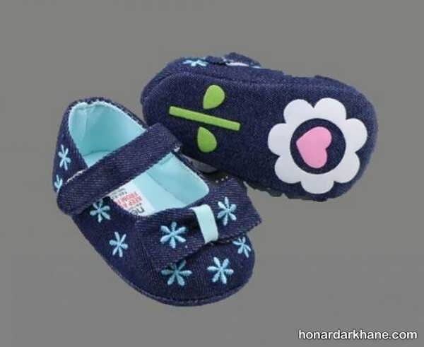 انواع پاپوش طرح دار و زیبا برای نوزاد