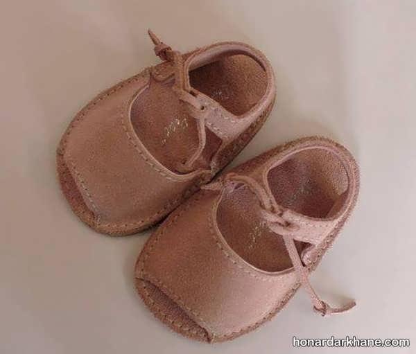 انواع کفش نوزادی جلوباز