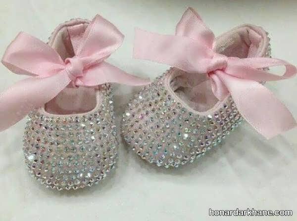 انواع کفش نوزادی شیک و مجلسی